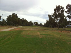 Hole 12 - From the Tee » Click to zoom ->